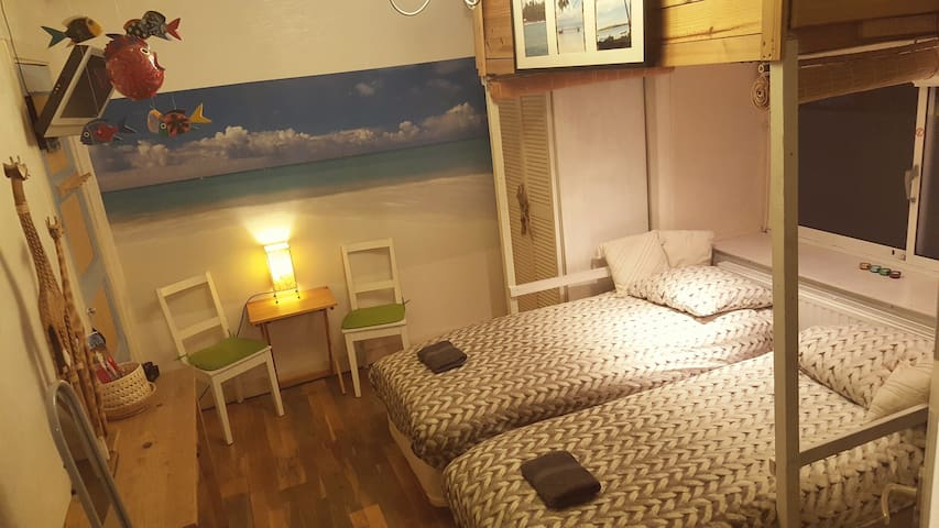Cozy (2beds) room 15min Centre Ams - Amsterdam - Appartement