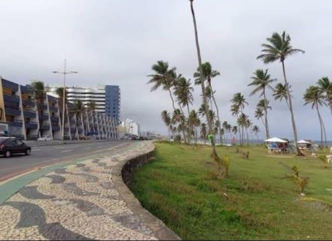 Apartamento confortável Praia Orla - Salvador - Apartemen