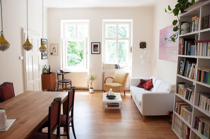 Sunny apartment in best area - Wien - Huoneisto