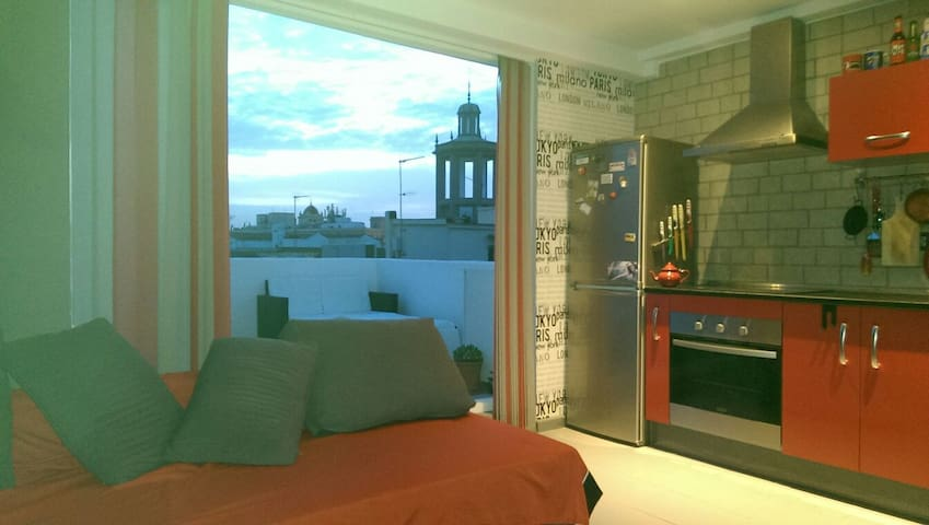Attic in the city center - Málaga - Loft