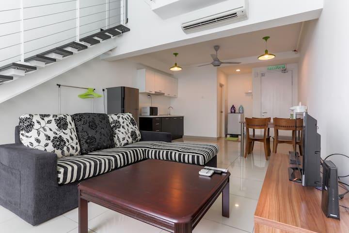 Cosi-Cosi Duplex Home - FAST WiFi - Kuala Lumpur