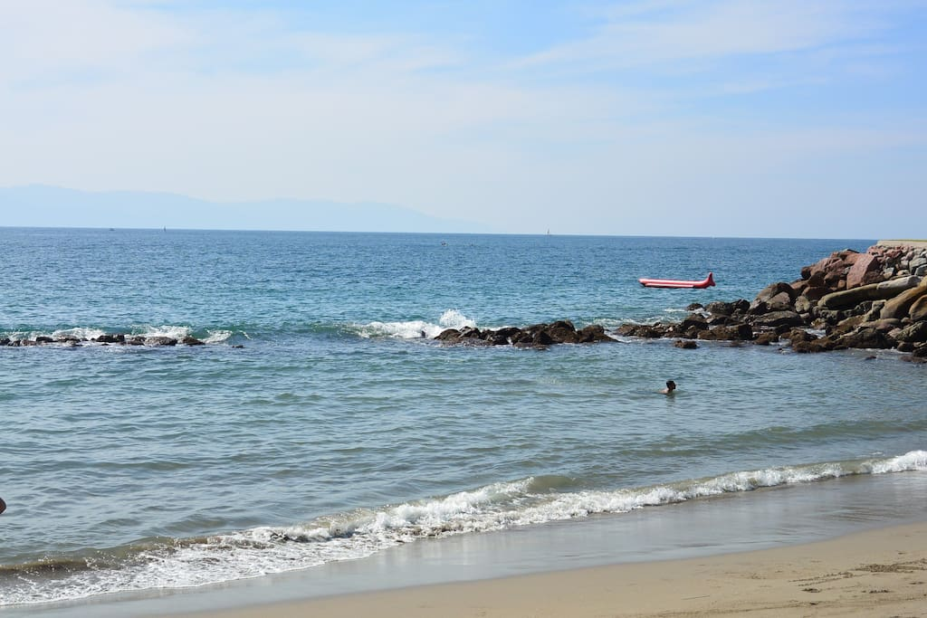 playa privada de las villas