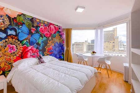 Amaizing apt, great view & near to Museo del Oro - Bogotá - Appartement