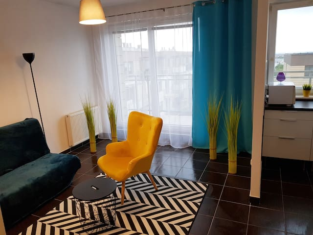Mieszkanie z pięknym widokiem!