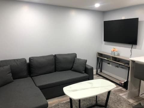 Newly renovated Bsmt Apartment close to Airport!!