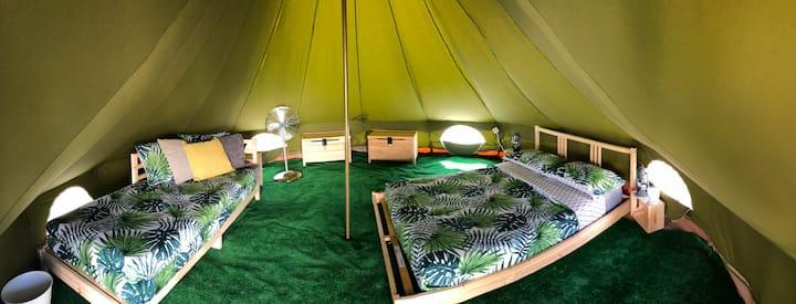LUFI SURF LODGE Tents /Tenda Indo