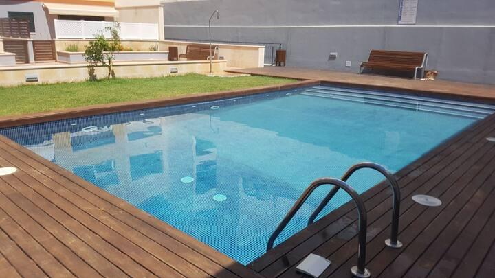 PISO centro Ciutadella con piscina