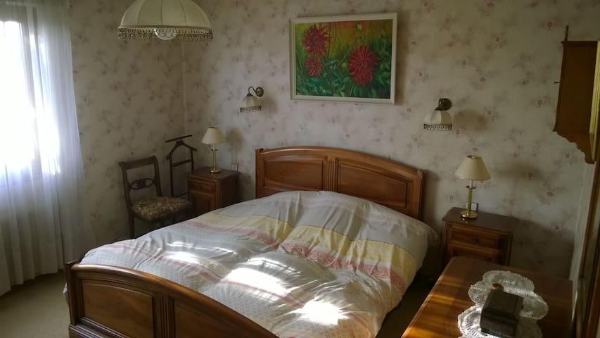 Maison au calme avec jardin - Zimmersheim - Huis