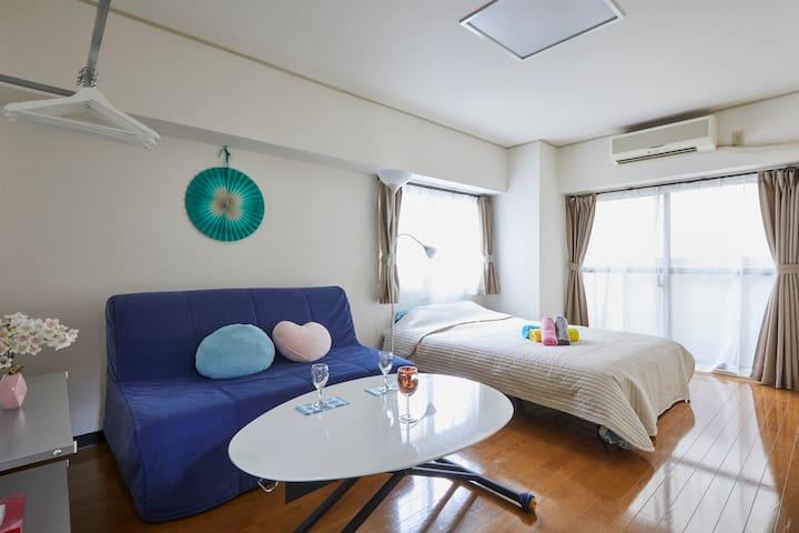 Tokyo 1min→STA Easy→Kaminarimon&Asakusa WiFi - Taitō-ku - Apartemen