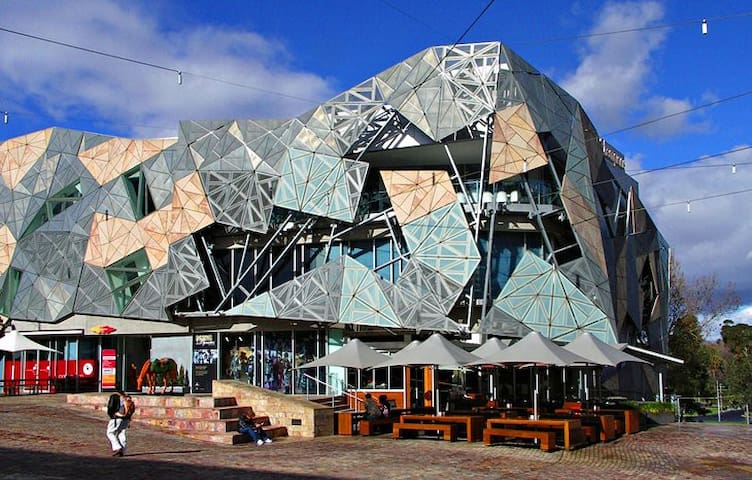 Federation Square - 10 minutes Free Tram