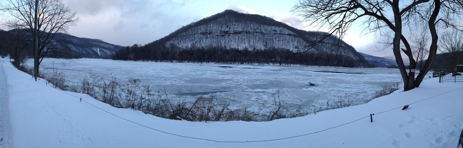Winter on the New River