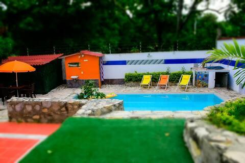 Casa Naranja Tocaima - Cabaña 2