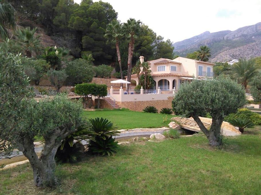 Casa grande superr c moda reuniones y vacaciones villas en alquiler en altea comunidad - Casas alquiler altea ...