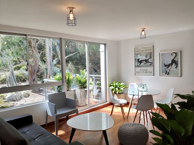 Espectacular apartamento en medio de la naturaleza