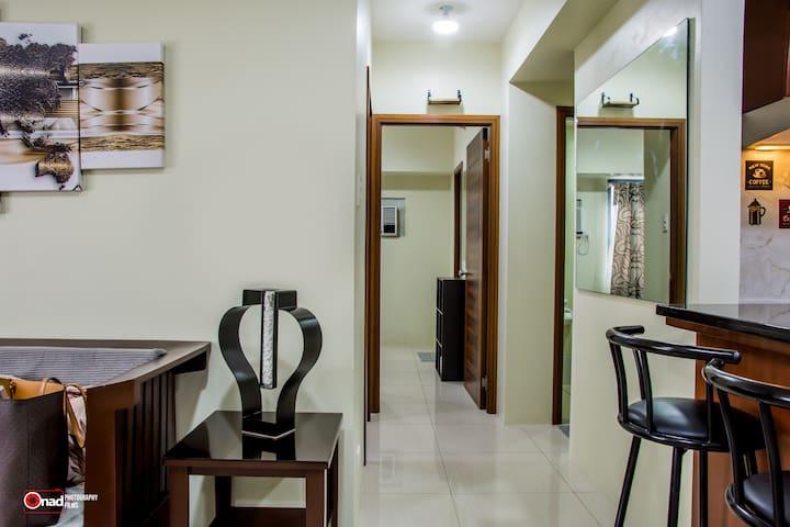Hallway to the master's bedroom