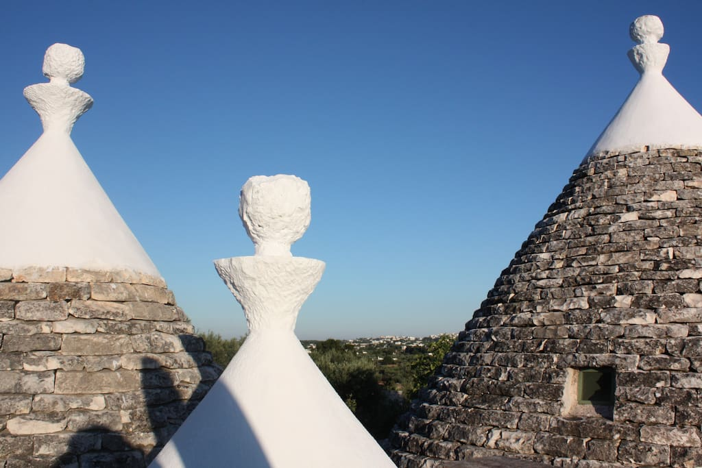 The three cones of Trullo Stefano