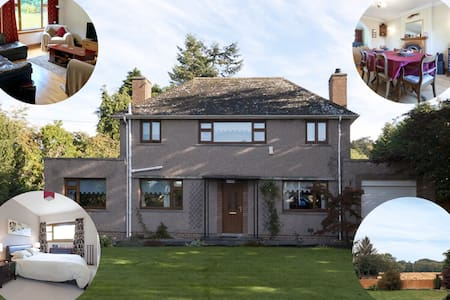 Blackburn, Aberdeenshire a spacious family house.