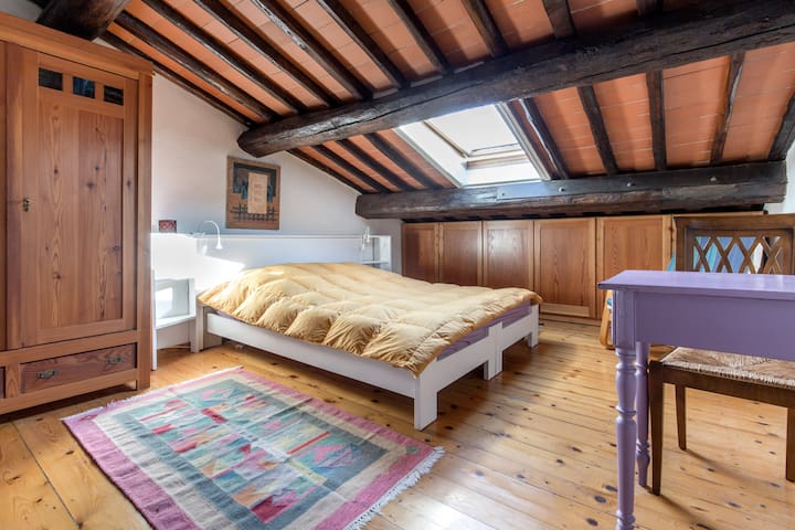 Attic intimate and very welcoming - Reggello  - House