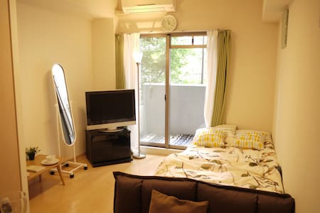 only 7min☆on foot from OSAKA,UMEDA,Yodoyabashi sta - Osaka - Huoneisto