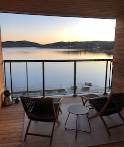 Waterfront modern apartment with superior views!