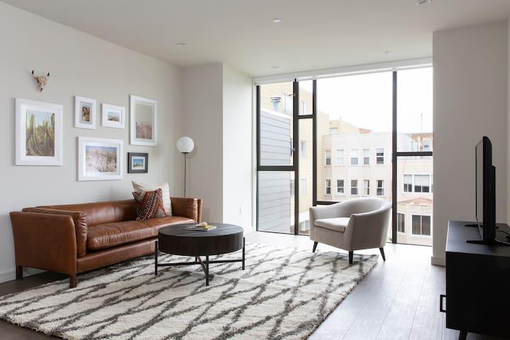 Sonder | Lombard Street | Warm 1BR + Rooftop