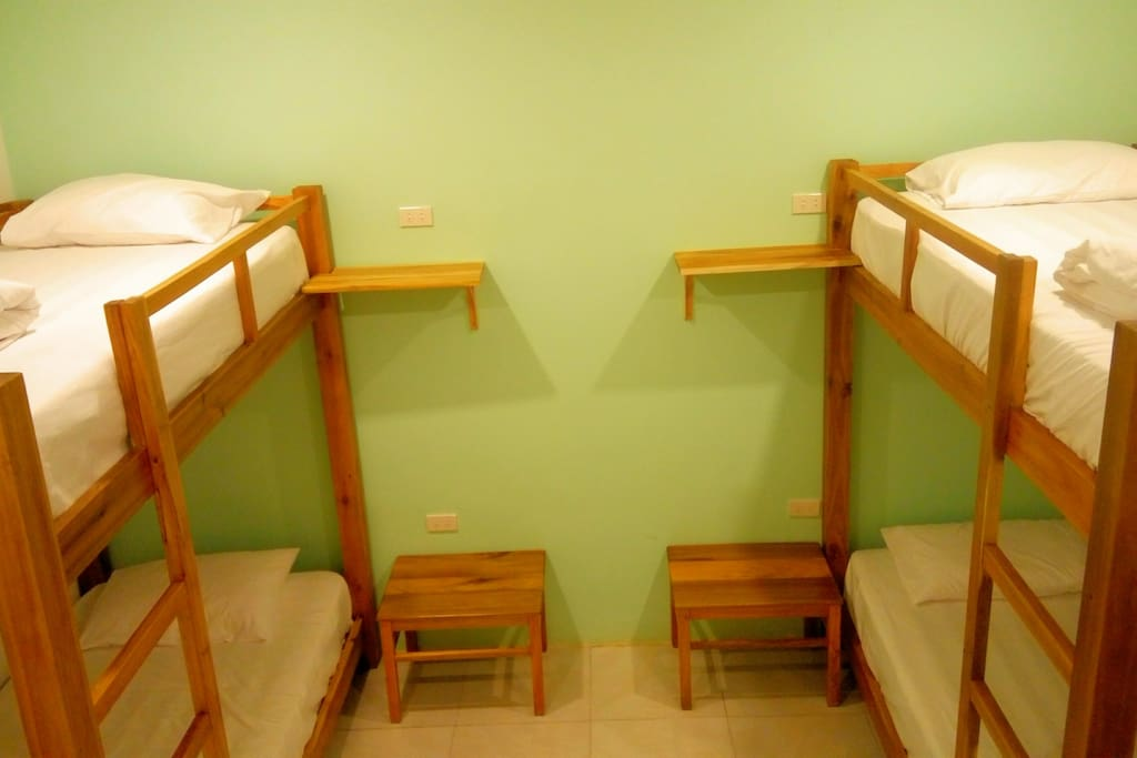 4 bed Dormitory