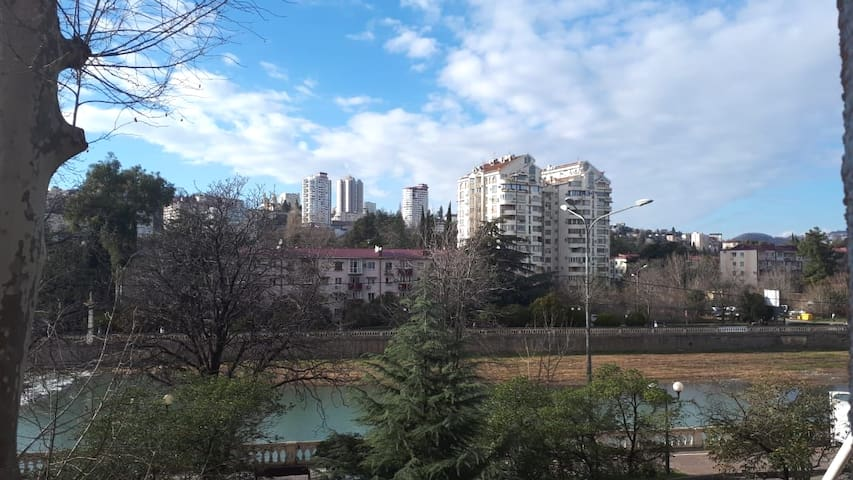Cozy apartment in the center of Sochi