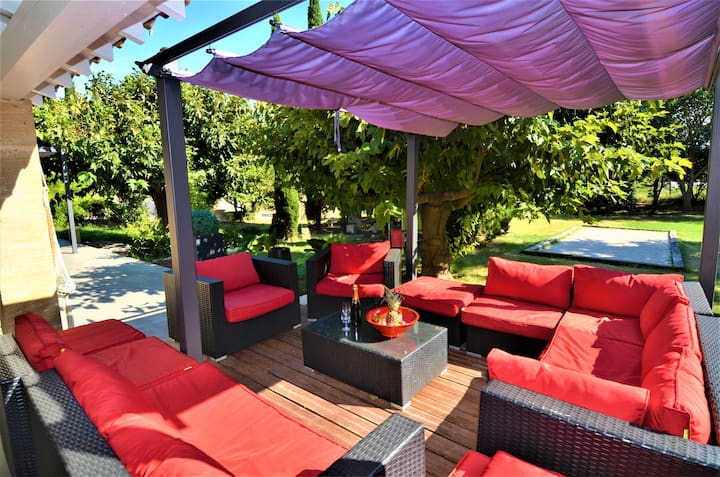 Villa 200m2 piscine au coeur des Alpilles