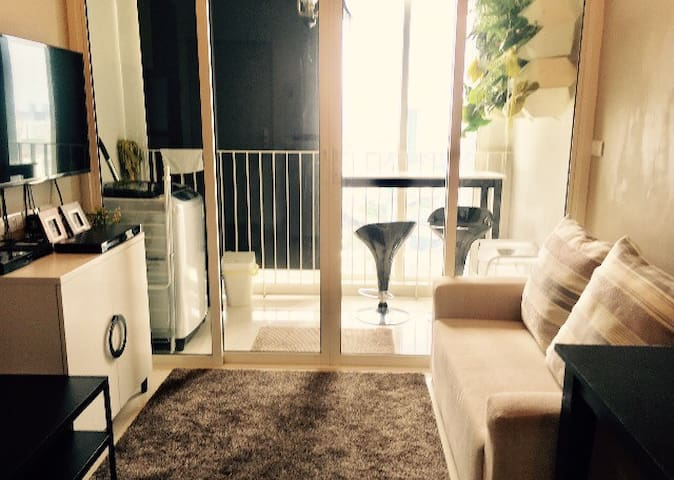 Cozy apartment near Airport link - Bangkok - Apartment