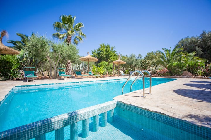 CAN PINA (ECO REDONDA 2) - Apartment with shared pool in Costitx.