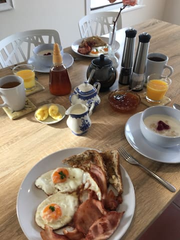 Cook yourself a hearty breakfast