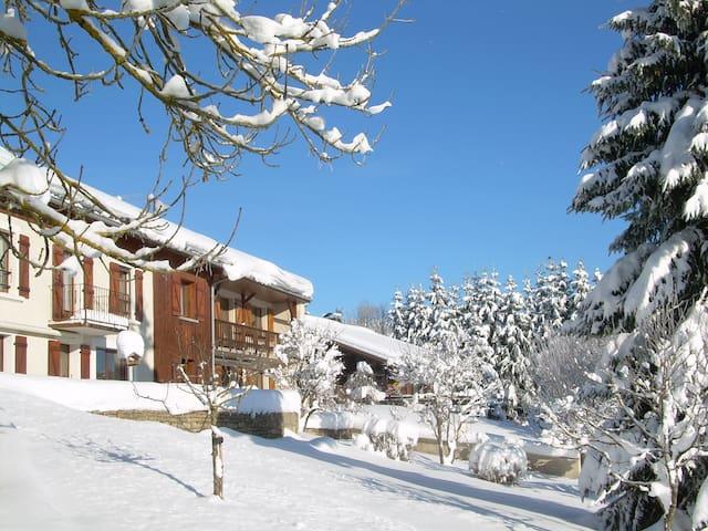 Gîte (Haut-Doubs) à promixité du lac Saint-Point - Oye-et-Pallet - Wohnung