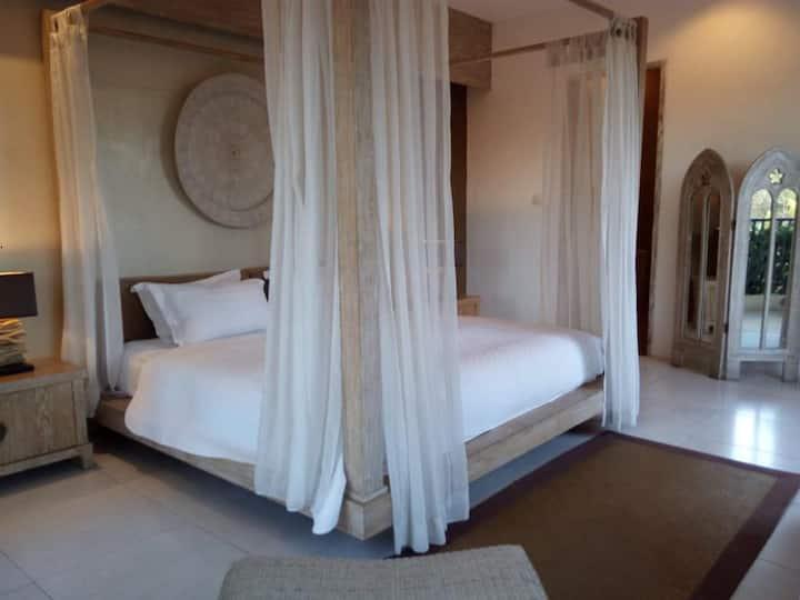 Modern Balinese Style Abode in Umalas #2Br
