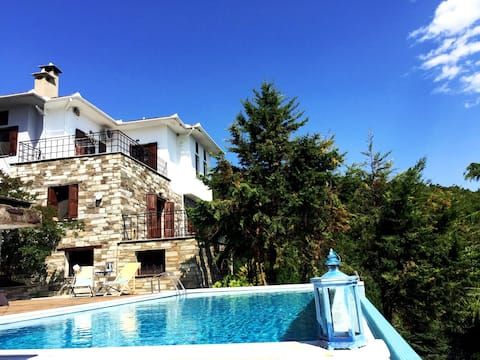 Art Luxury Resort Villa with Infinity Pool