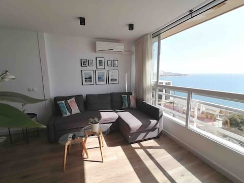 Wonderful apartment with spectacular sea views