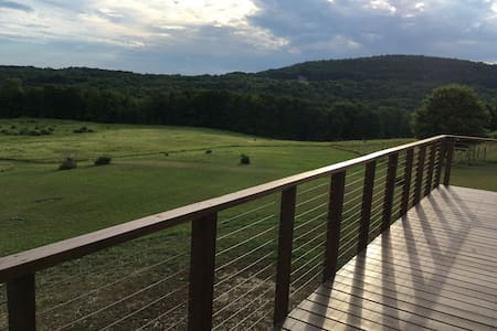 Dream Cottage on 30 acres, stunning panoramic view - Ev