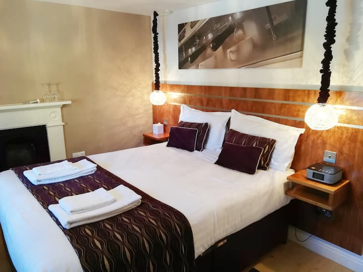 Boutique king room in the heart of Ambleside