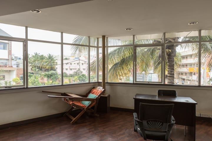 Jasper AC Single Room, Ebenezer Suites, Whitefield - Bangalore