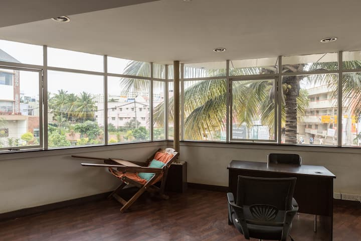 Jasper AC Single Room, Ebenezer Suites, Whitefield