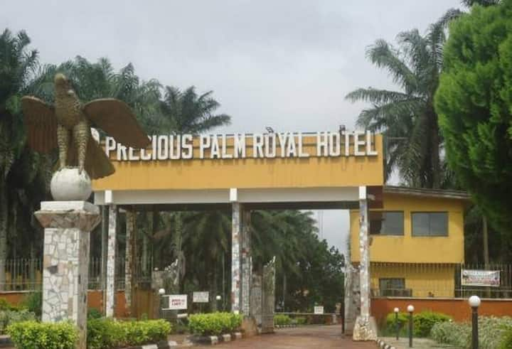 Precious Palm Royal Hotel Limited...Royal hotel in Benin City