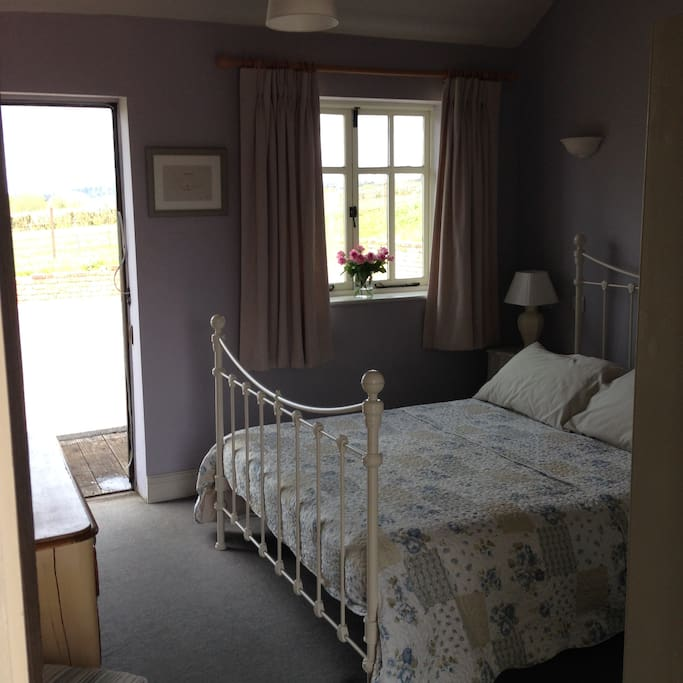 Main Bedroom with King size Iron Bed