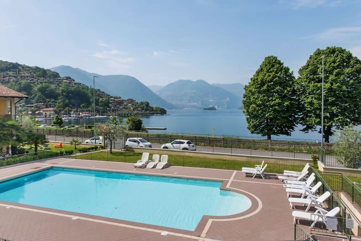 Appartamento in Residence a Sulzano con giardino