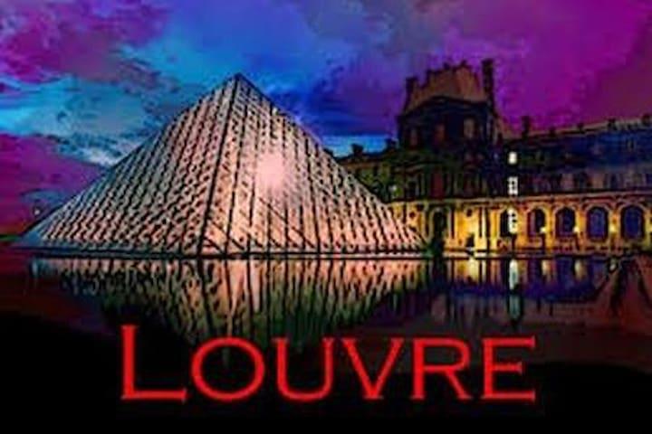 Studio Cosy au Louvre