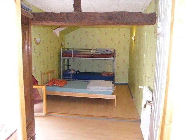3 Chambres pour 9 personnes