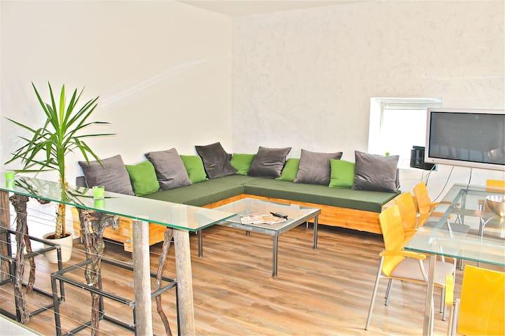 Modernes Apartment mit Weinkeller - Unterbergern - Apartment
