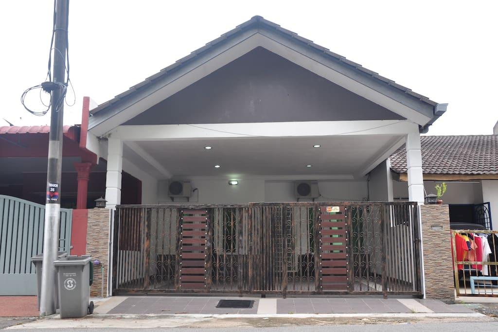 This is the Homestay Nordin Yunus Melaka