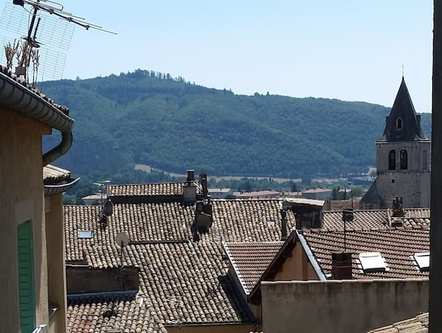 Calm flat with balcony in the heart of Sisteron - Sisteron - Flat