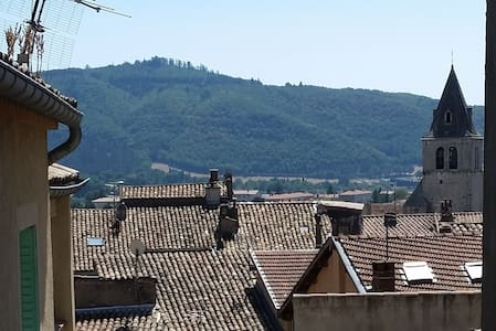 Calm flat with balcony in the heart of Sisteron - Sisteron