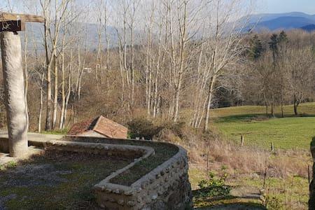 Maison entre forêt et champs à Saint Amans Soult