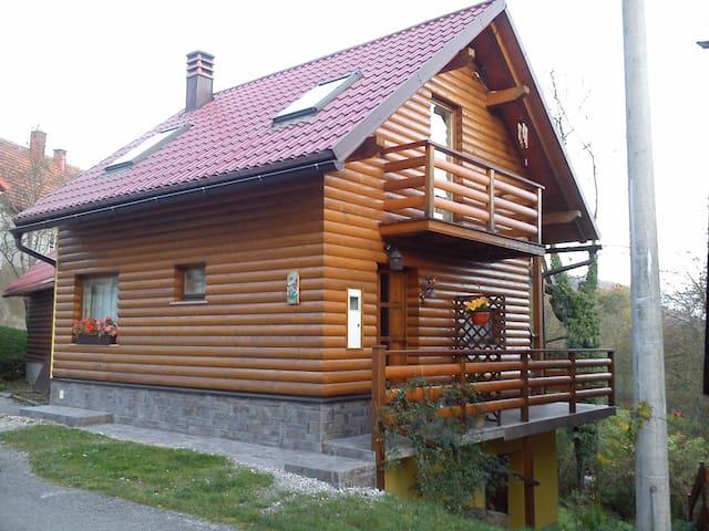 House Blanka Gorski kotar - Skrad - 木屋